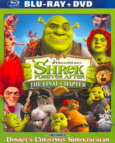 SHREK FOREVER AFTER BY MYERS,MIKE (Blu-Ray)